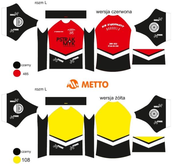 Projekty koszulek rowerowych z nadrukiem